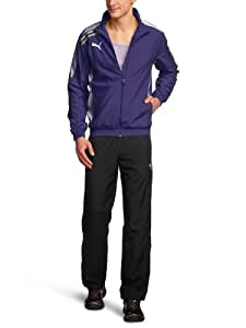 PUMA Herren Trainingsanzug Esito Woven, team violet-white, M, 652594 10