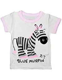 Camey Cotton Baby Tees (Multicolour- 3-6 Year) - CA003303T