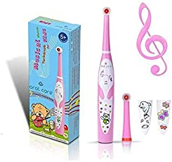 Oral Care Kids Musical Oscillating Toothbrush RST2206 (Pink)