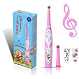Oral Care Kids Musical Oscillating Toothbrush (Pink, RST2206A)