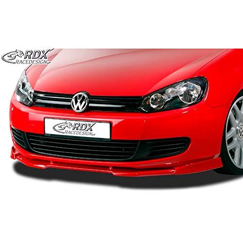 RDX Frontspoiler VARIO-X Golf 6 Frontlippe Front Ansatz Vorne Spoilerlippe