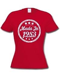 Made In 1983 - Cadeau d'anniversaire 33 ans T-Shirt Femme