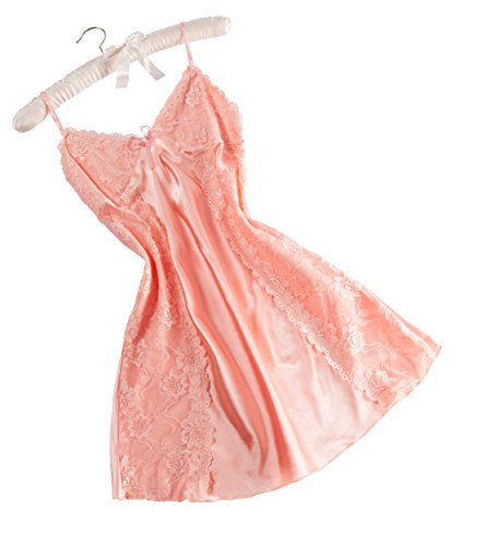 ntw-033m-coral-lace-panel-satin-chemise