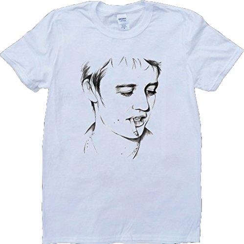 Pete Doherty Weiß Benutzerdefinierten Gemacht T-Shirt Weiß