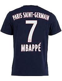 PSG T-Shirt Kylian MBAPPE - Collection Officielle Paris Saint Germain -  Taille Enfant garçon 33adbc2d5dd