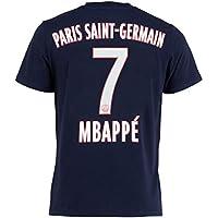 PSG T-Shirt Kylian MBAPPE - Collection Officielle Paris Saint Germain -  Taille Enfant garçon c62f1348f59