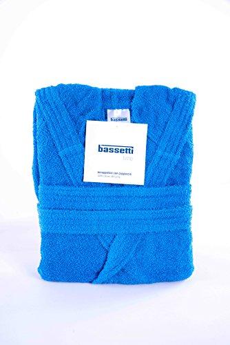 Bassetti accappatoio, blu, s