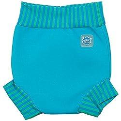 Splash About Baby Happy Nappy Wiederverwendbar Schwimmwindel, Türkis Blau Lagune, XXL, HNTBLXXL by Splash About
