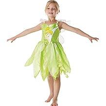 Rubie's I-881868L - Disfraz de niña Campanilla Peter Pan, talla L (7 -8 años)