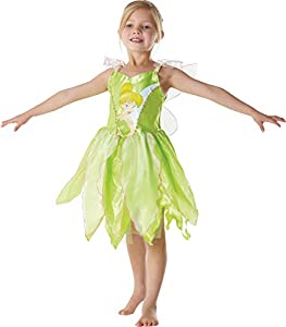 Peter Pan - Disfraz de Hada Campanilla clásico para niña, infantil 3-4 años (Rubie