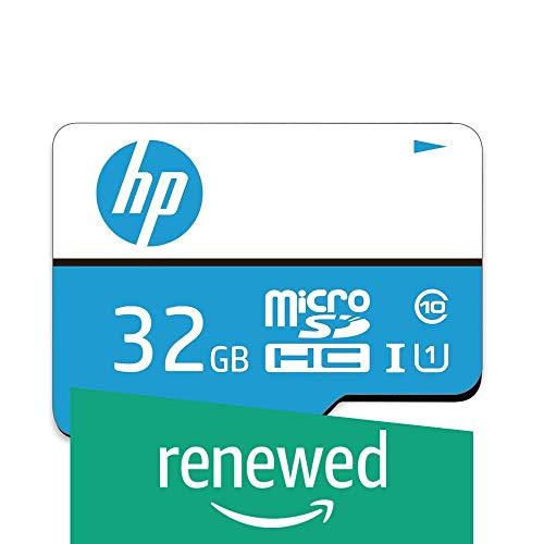 (Renewed) HP 32GB Class 10 MicroSD Memory Card (U1 TF Card32GB)