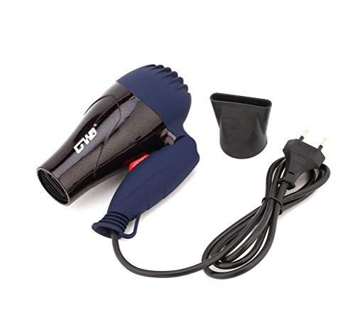 takestop ASCIUGACAPELLI Compatto gw555 Pieghevole 1200 1500 Watt BECCUCCIO da Viaggio PHON Phono Portatile Capelli Hair Style Colore Casuale