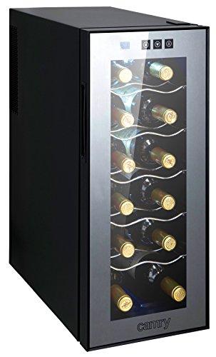 Weinkühlschrank 33 Liter 12 Flasche Weinkühler Weinklimakühlschrank Mini Kühlschrank Minibar mit...
