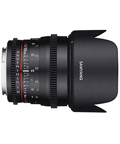 Affordable Samyang 50 mm T1.5 VDSLR Manual Focus Video Lens for Sony-E Online