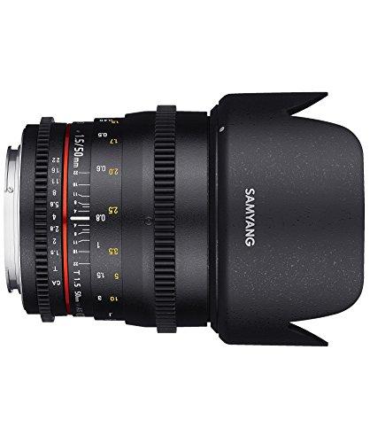 Samyang 50 mm T1.5 VDSLR Manual Focus Video Lens for Nikon