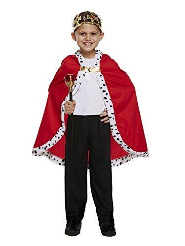 King Kinder Kostüm - kostüm kinder king umhang einheitsgröße