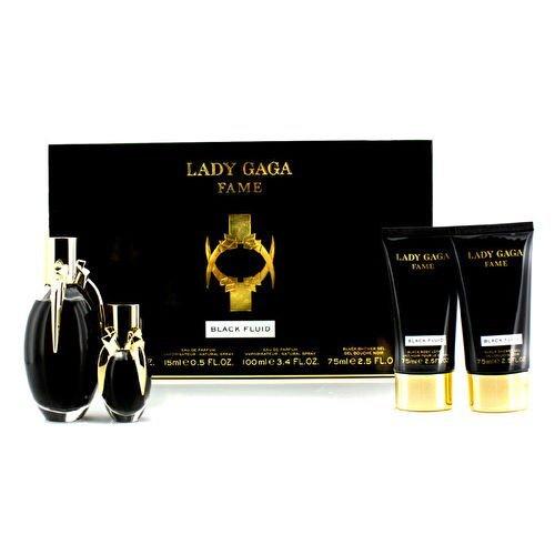 Lady Gaga Fame Black Fluid 4 Piece Gift Set