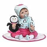Jolie Reborn Babypuppe 22 Zoll Handarbeit Lebensechte Babypuppe Mit Einem Niedlichen Pinguin
