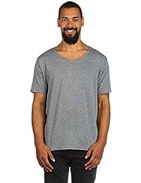 ELEMENT - T-shirt - Homme - Tshirt Basic Open Neck Crew Gris pour homme