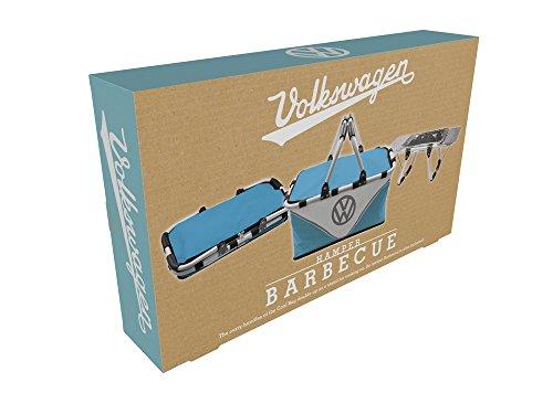 41lVCg2IJyL - Volkswagen Grillständer + Picknickkorb, 2-in-1, Kühltasche, inkl. Einweg-Grill