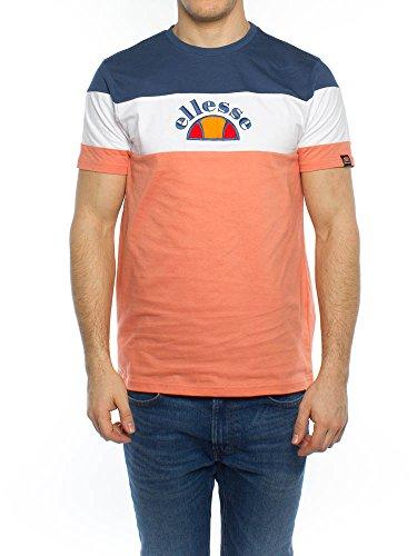 Ellesse Herren Gubbio Cut & Sew S T-Shirt, Mehrfarbig, Route