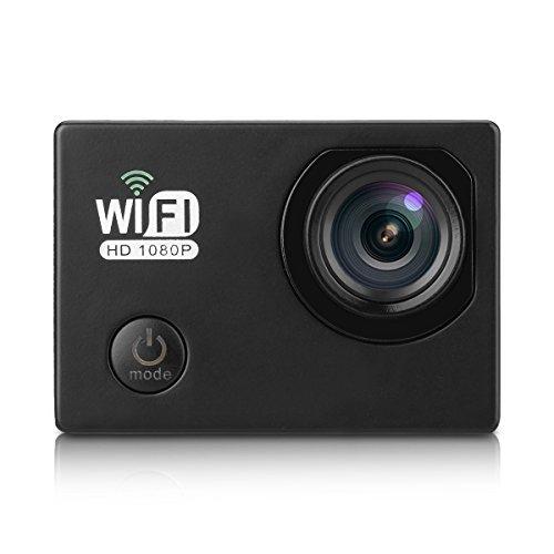 Cámara Deportiva de Acción 1080P 12MP HDMI (Sony Sensor, Pantalla 2.0