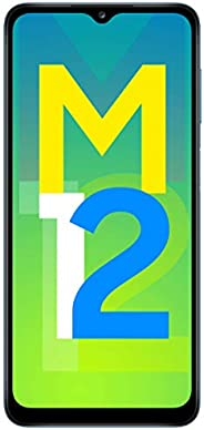 Samsung Galaxy M12 (Blue,4GB RAM, 64GB Storage) 6000 mAh with 8nm Processor | True 48 MP Quad Camera | 90Hz Re