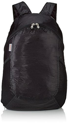 Samsonite Travel Accessor. V Fold Up Backpack Sacca impermeabile, Nero (Nero)