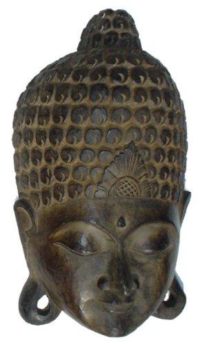 Guru-Shop Máscara de Buda, Tamaño: 50 cm, Máscaras
