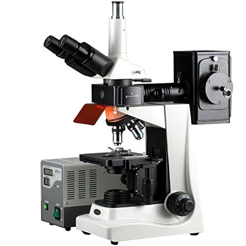 40x -1600x Trinocular EPI fluorescenza microscopio
