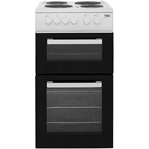 41lVF3GRk4L. SS500  - Beko AD531AW Freestanding Electric A Rated Cooker -White