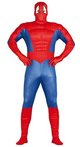 (Fiestas Guirca Kostüm Spinne Erwachsene muskulöse Mann)