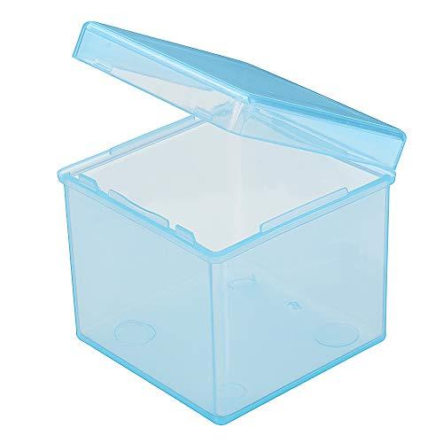 DyNamic Transparenter Pp Magic Cube Storage Box Protect Für Universal 3X3X3 Magic Cube- Transparentes Blau