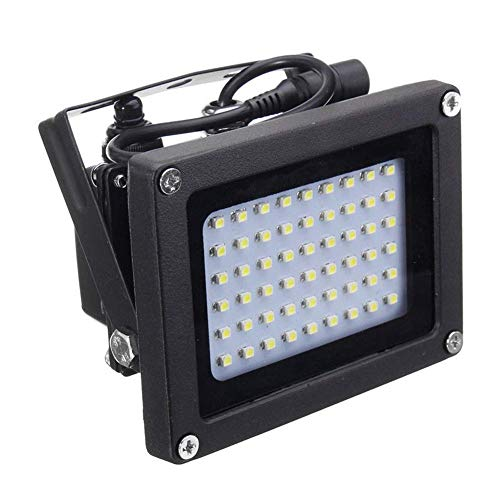 Solarleuchten für den Garten, Solar 54 LED Lichtsensor Flut Spot Lampe Garten Outdoor Sicherheit Waterproo