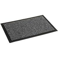 Fußmatte Nela für den Innenbereich -  Türvorleger - Sauberlaufmatte - Fußabstreifer - Schmutzabstreifer - Fußabtreter, 40 x 60 cm, anthrazit