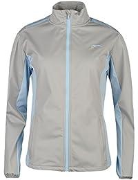 Slazenger Damen Softshell Golf Jacke Langarm Stehkragen Belüftungseinsätze