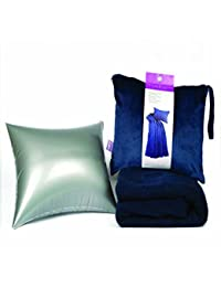 Viaggi 4in1 Travel Blanket with Pillow Blue (VIA0055)