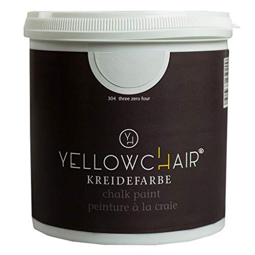Kreidefarbe yellowchair No.304 hellgrau ÖKO für Wände und Möbel 1 Liter