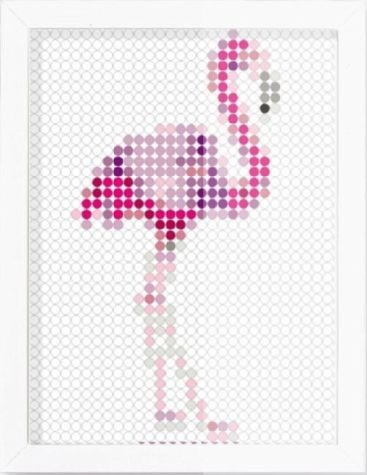 dot on art trend | flamingo | (Dot Flamingo)
