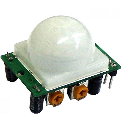 Robodo SEN3 Hc Sr501 Pyroelectric Infrared Pir Motion Sensor Detector Module for Arduino AVR