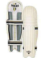 Dukes Microlite deportes equipo de protección ligera–Espinilleras para bateador de críquet Legguard, joven