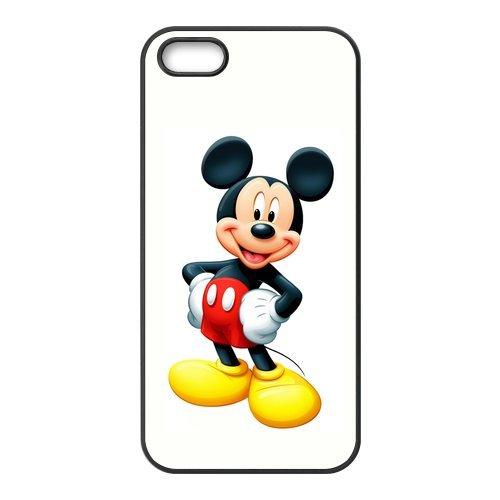 """Mickey Mouse Design Étui pour l'iPhone 5/5S, Personalized Coque pour iPhone 5S """", Customize Mickey Mouse TPU Phone Case Housse de Protection Coque Housse étui Cas Back Cover pour Iphone"""