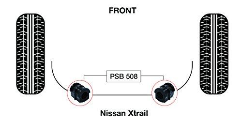 PSB polyuréthane Bush X Trail avant anti Rouleau bushing (2001-2006) - PSB 508