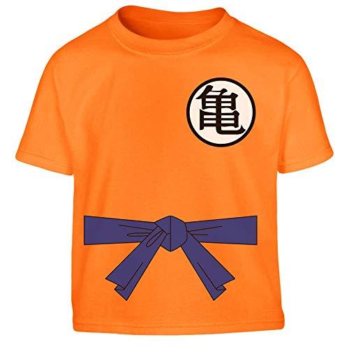 Süßes Anime Dragon Kampfsport Kostüm für Kleinkinder Kleinkind Kinder T-Shirt 86/94 (1-2J) - Kleinkind Goku Kostüm