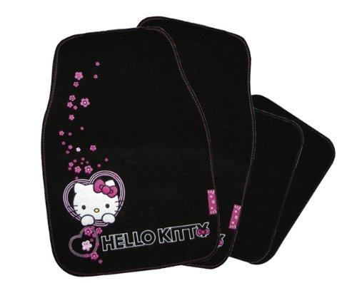Hello Kitty HK-INN-801 - Set tappetini auto, 4 pezzi