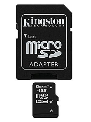 Kingston Class 4 Micro SDHC card - Parent ASIN