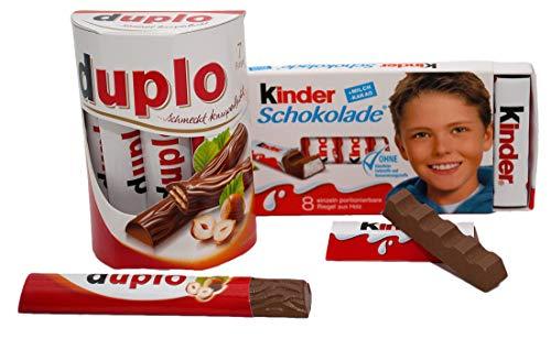 Tanner Set aus Duplo und Kinderschokolade