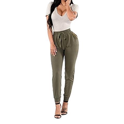 WALK-LEADER - Pantalon - Uni - Manches Longues - Femme - vert - X-Large