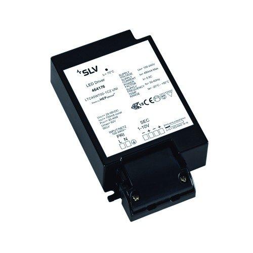 SLV LED-Treiber, 40 W, 1000 mA, inklusiv Zugentlastung, dimmbar 464176 -