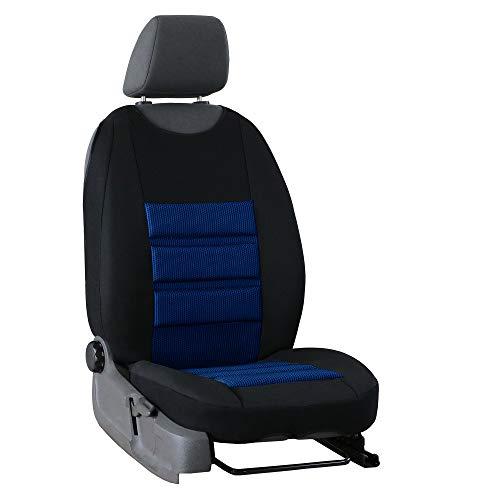 Saferide | Universal Sitzmatte Blau 1Stk. Schutz Sitzschoner Sitzbezug Vordersitz Schutzabdeckung Sitzauflage Schaumstoff VIP Ergonomic